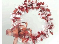 DIY: Make A Shabby Chic Rag Wreath