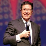 Stephan Colbert will have some funny guests in a special live broadcast of 'The Late Show With Stephen Colbert' airing after the Super Bowl on Feb. 7.