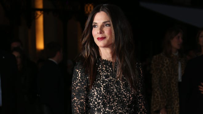 Sandra Bullock attends the British Film Institute screening of 'Gravity' in London on Oct. 10.
