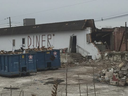 The former New Golden Dawn Diner in Maple Shade is