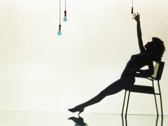 """Just add rain: An iconic pose from 1983's """"Flashdance."""""""
