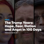 The Trump Years: Hope, Fear, Elation and Angst in 100 Days