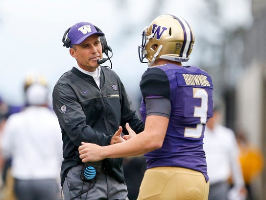 Chris Petersen's quarterbacks at Boise State typically