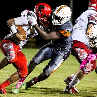 All-state football: Rocky Jacques-Louis, Fa'Najae Gotay top Lee County honorees