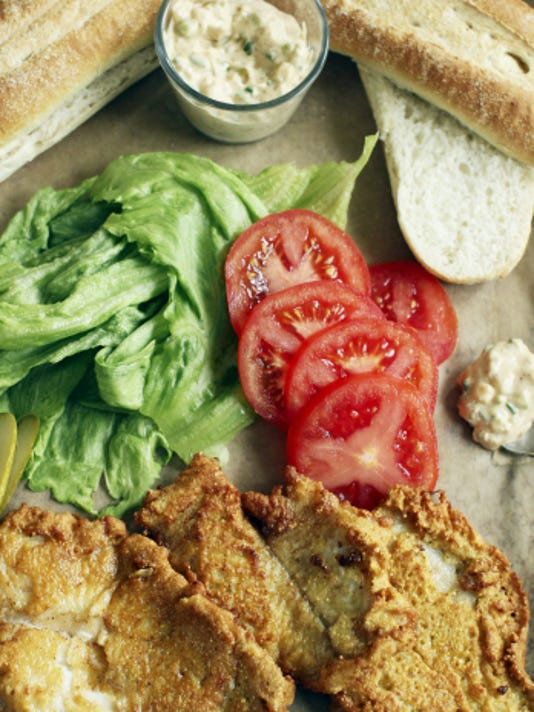 Pan fried po'boys fry up on the stovetop in a flash. A catfish po'boy is one of the classic tastes of summer that doesn't ask home cooks to fire up the grill.