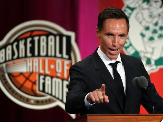 Hall of Fame point guard Steve Nash is Knicks rookie RJ Barrett's godfather.