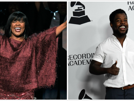 Gospel star CeCe Winans and her son, Alvin Love III,