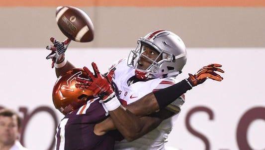 Cornerbacks will be in the spotlight in Saturday's Purdue-Virginia Tech matchup.