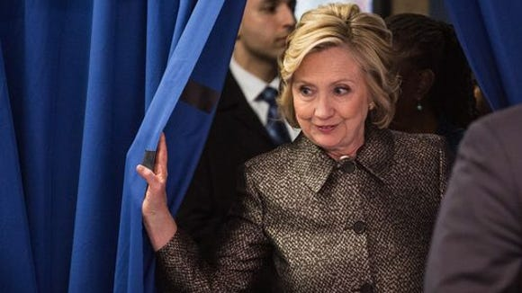 Democratic front-runner Hillary Clinton on Tuesday will meet her party rivals Bernie Sanders, Martin O'Malley, Jim Webb and Lincoln Chafee in the first Democratic presidential debate of the 2016 season.