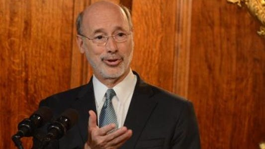A Republican effort to end the ability of labor unions to collect full dues and political action committee contributions through payroll deductions is opposed by Gov. Tom Wolf.