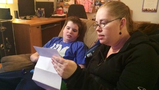 Boy with autism requests mail for Christmas.