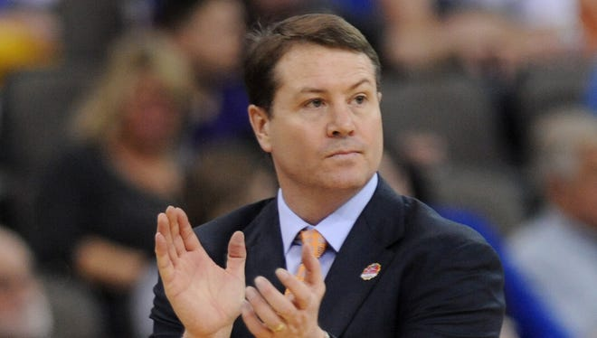 Travis Ford is 143-91 in seven seasons as Oklahoma State's coach.