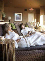 Spa day at The Red Mountain Resort