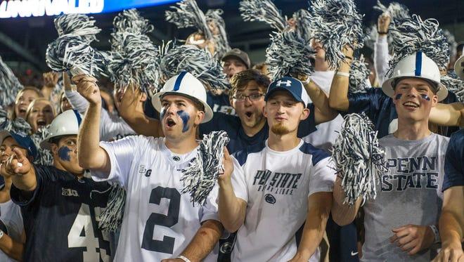 Penn State has a big game Saturday.