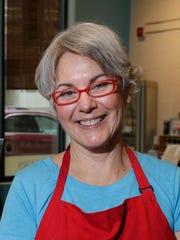 Martha Davis Kipcak always serves Sweet Potato and Carrot Puree at Thanksgiving.