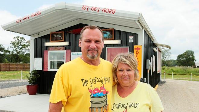 David and Dana Duplechin own the Seafood Boiler in Breaux Bridge.