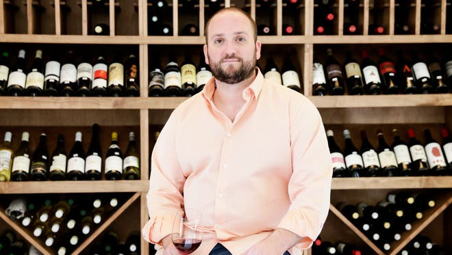 My Somm wine shop owner Ben Leger in River Ranch Weds., March 22, 2017.