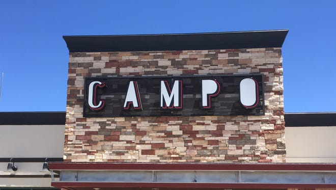 The main entrance of the new Campo at 137 Los Altos Parkway in Sparks. The restaurant is set to open July 1. It's in the Sparks Crossing center at Los Altos Parkway and Pyramid Way.