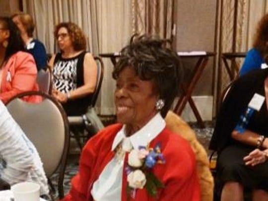 2015 W Award winner The Rev. Vernice Smith Warfield