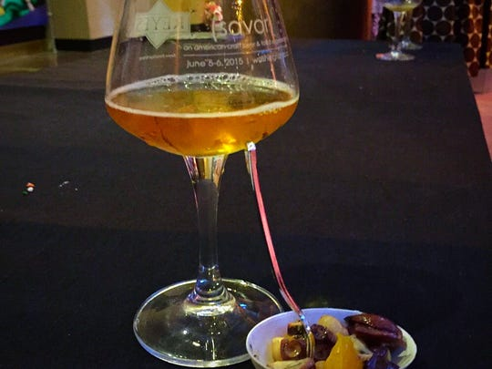 At the 8th annual SAVOR: An American Craft Beer & Food