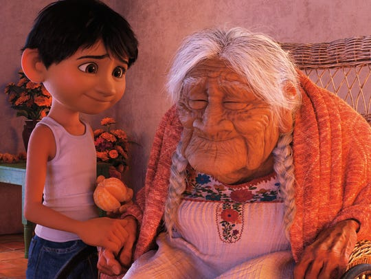 "In ""Coco,"" Miguel has a special bond with his great-great-grandmother."