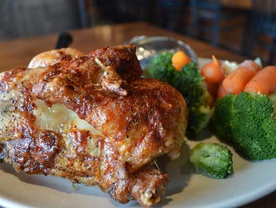Rotisserie chicken is made fresh daily at Bullwinkle's