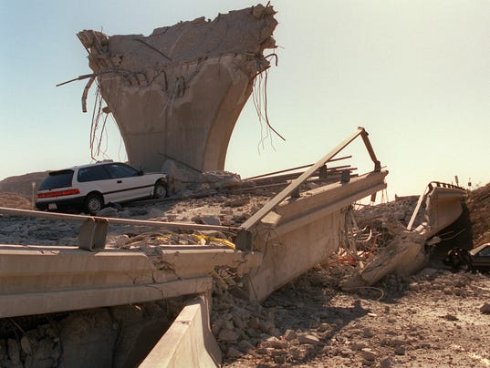 USA-EARTHQUAKE-DAMAGES