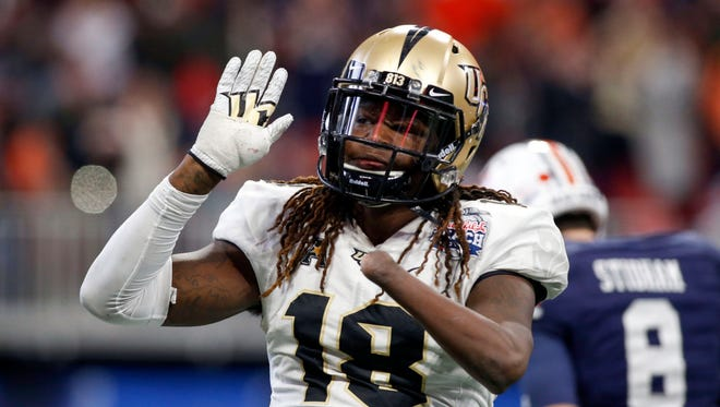 Shaquem Griffin turned heads by putting up 20 reps on the bench press at the NFL scouting combine.
