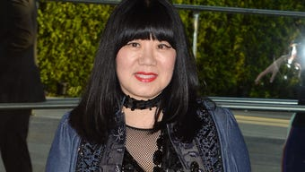 Anna Sui had a heartfelt passion for fashion from the age of four. (March 18)