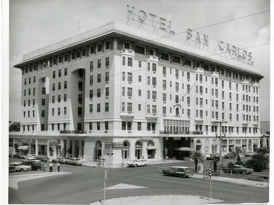 Hotel San Carlos at Downtown Pensacola.