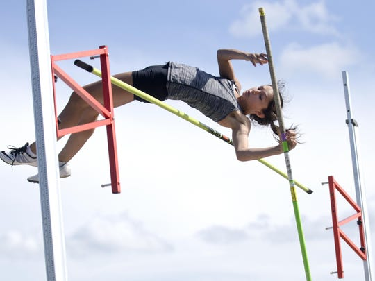 Halayna Hendrick finished eighth in last year's Class AA state meet. Her senior season was cut short when the South Dakota High School Activities Association canceled all spring sports due to COVID-19.