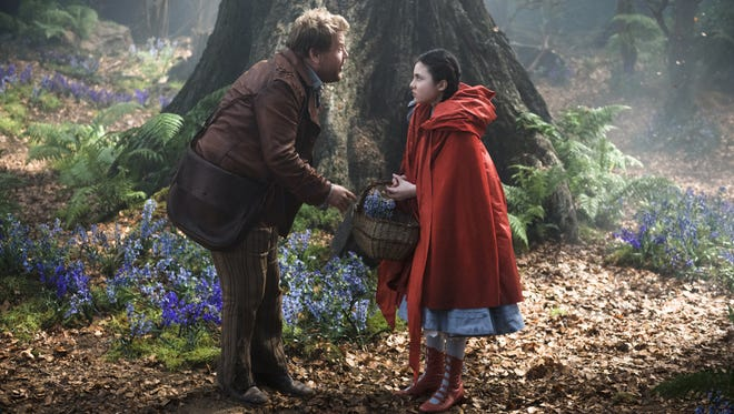 """With James Corden as the baker and Lilla Crawford as Little Red Riding Hood, """"Into the Woods"""" features classic fairy tales tied together in an original story about a baker and his wife."""