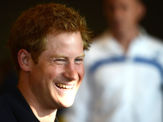 Prince Harry is definitely the royal to watch. Take