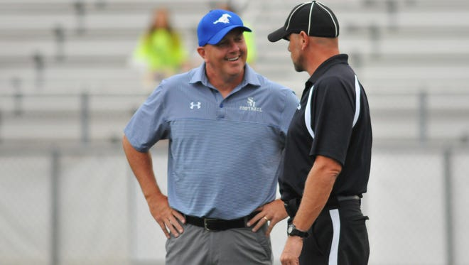 Chris Brookshire is the coach behind Smoky Mountain football's first winning season in 17 years.