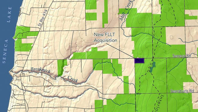 The Finger Lakes Land Trust has acquired a piece of private property in Hector that's surrounded by the Finger Lakes National Forest.