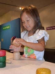 Visitors to the i.d.e.a. Museum's Family Day get to