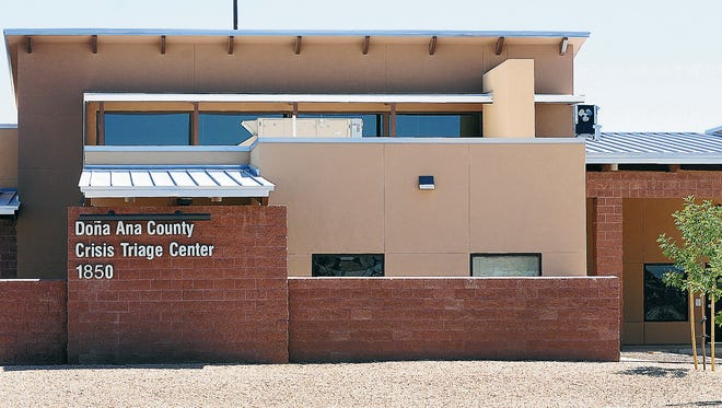 Six years after being built, the county's Crisis Triage Center, 1850 Copper Loop, stands empty.