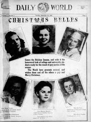 Christmas Belle's page from Dec. 24, 1939.