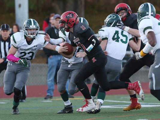PLEASANTVILLE VS GLENS FALLS FOOTBALL