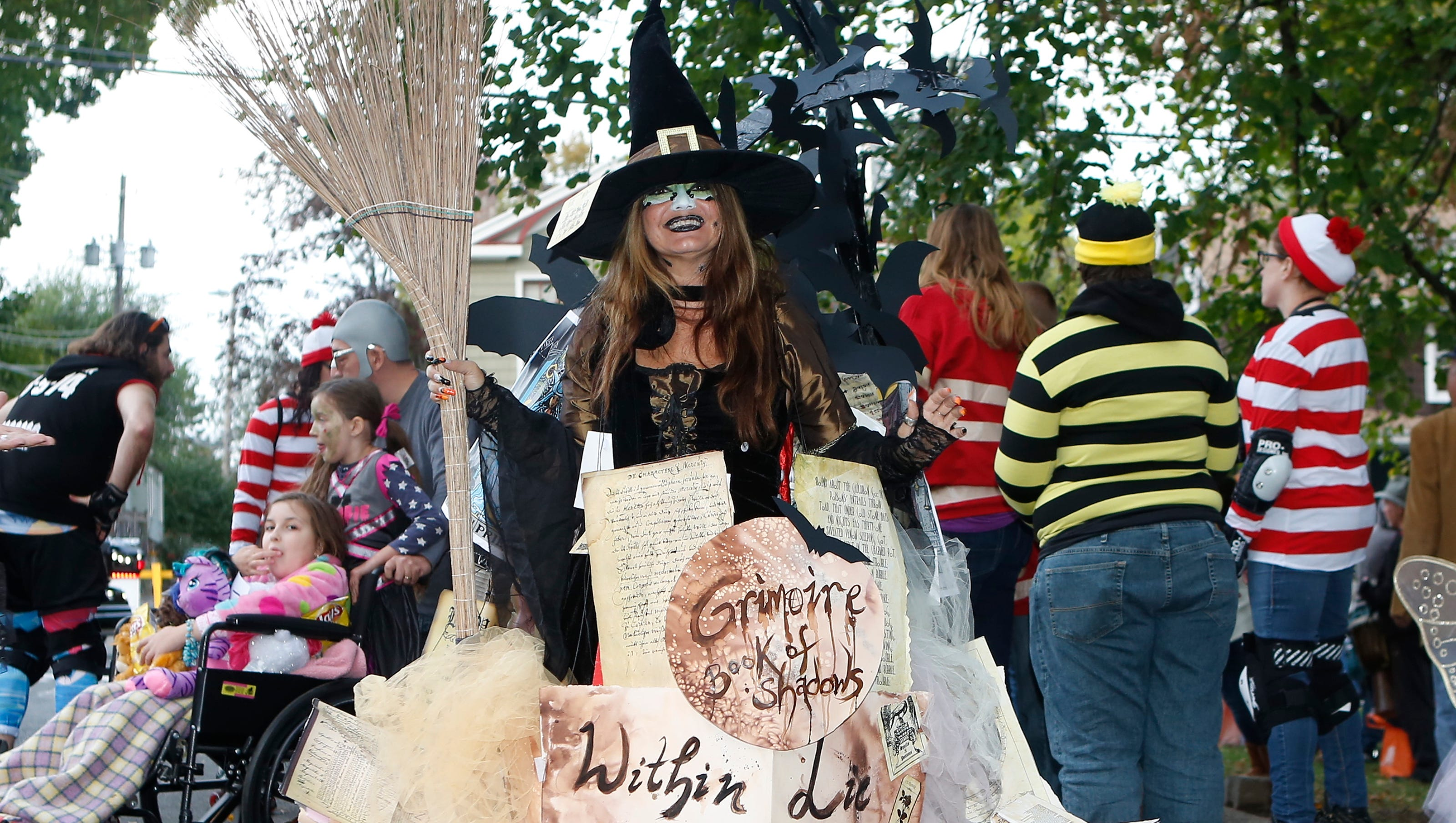 halloween in rockland county. nyack halloween parade and more things