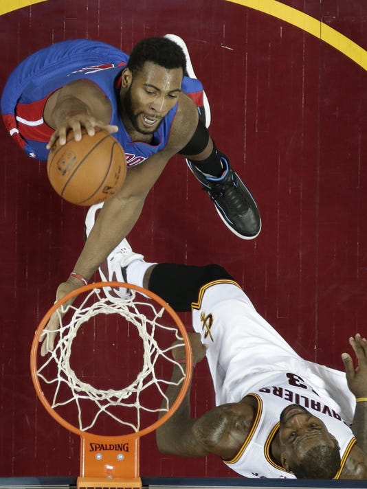 Andre Drummond, LeBron James