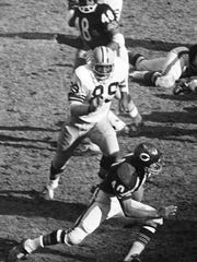 Dave Robinson was the Packers' first-round draft choice in 1963 and also played with the College All-Stars who beat the two-time defending NFL champions that year.