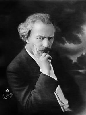 Classical pianist Ignace Paderewski, around age 70.
