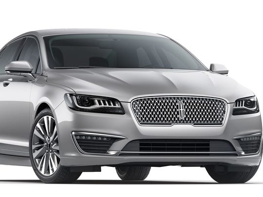 The 2017 Lincoln MKZ.