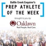 Vote for the Battle Creek Enquirer Athlete of the Week