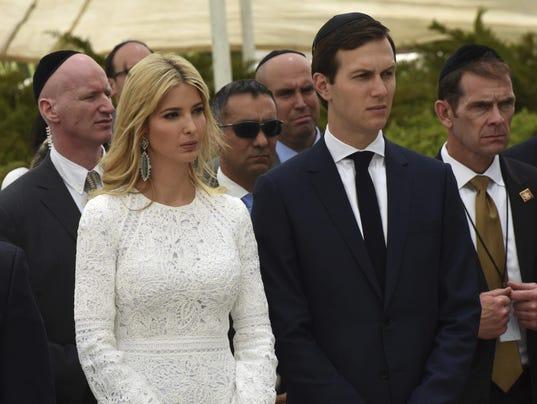 Ivanka Trump And Jared Kushner At Yad Vashem Holocaust Museum,Jerusalem