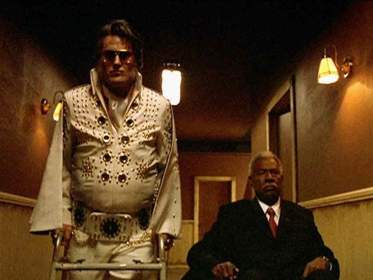 """Bruce Campbell is """"Elvis"""" and Ossie Davis is """"Jack"""" in the film """"Bubba Ho-Tep."""""""