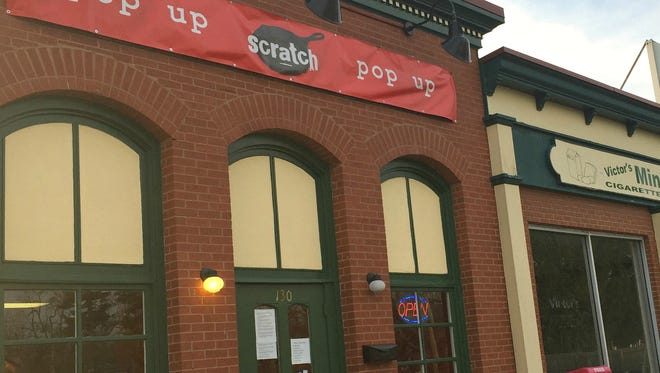 The Scratch pop-up is open 5 to 9 p.m. Wednesday-Saturday at 130 Audubon Road until sometime this spring.