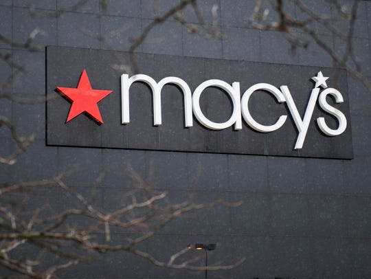 Macy's reports its earnings for the latest quarter.