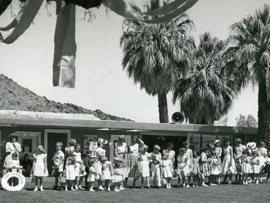 Easter egg hunt at the Tennis Club.